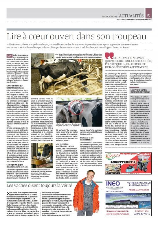 Halbe Rosema successfull in Bretagne France!