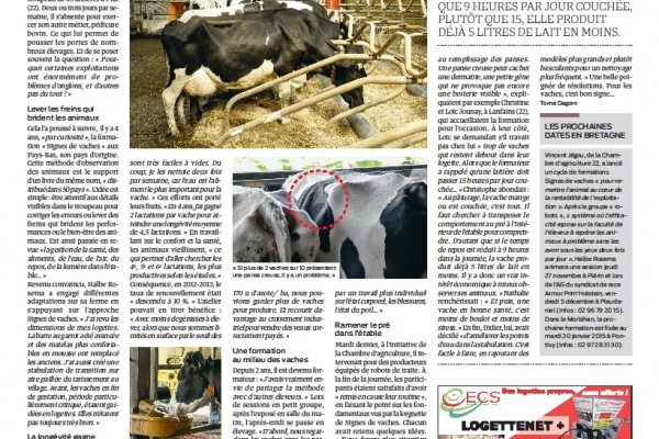 Halbe Rosema successfull in Bretagne France!