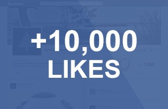 10.000 Facebook Likes > Thank You!