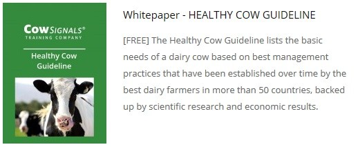 Free White Paper: the Healthy Cow Guideline