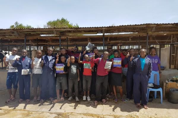 CowSignals in House of Hope in Kenya