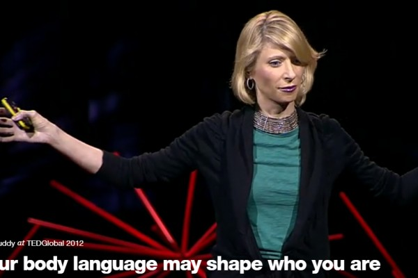 Body language shapes who we are