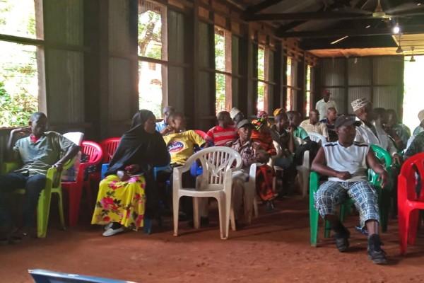 CowSignals training in Tanzania