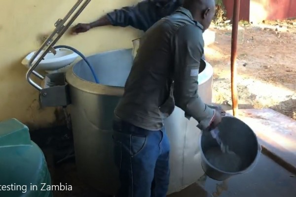 Milk quality testing in Zambia