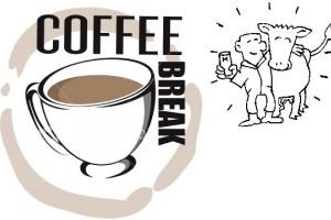 1o o'clock coffee break = CowSignals Coffee break