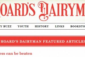Cow lameness can be beaten (Hoard's Dairyman)